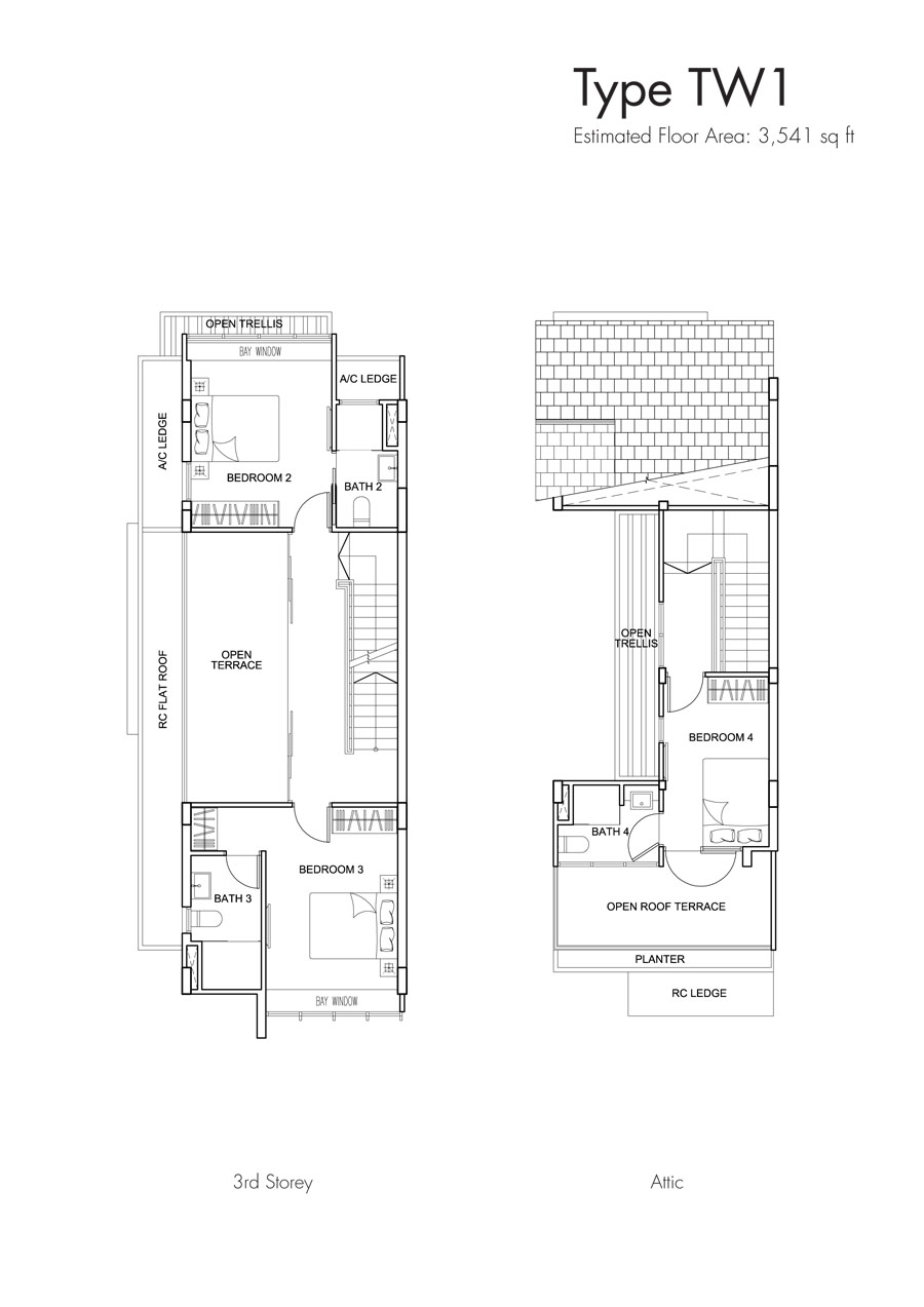 Brooks Signature floor plan TW1 (2)