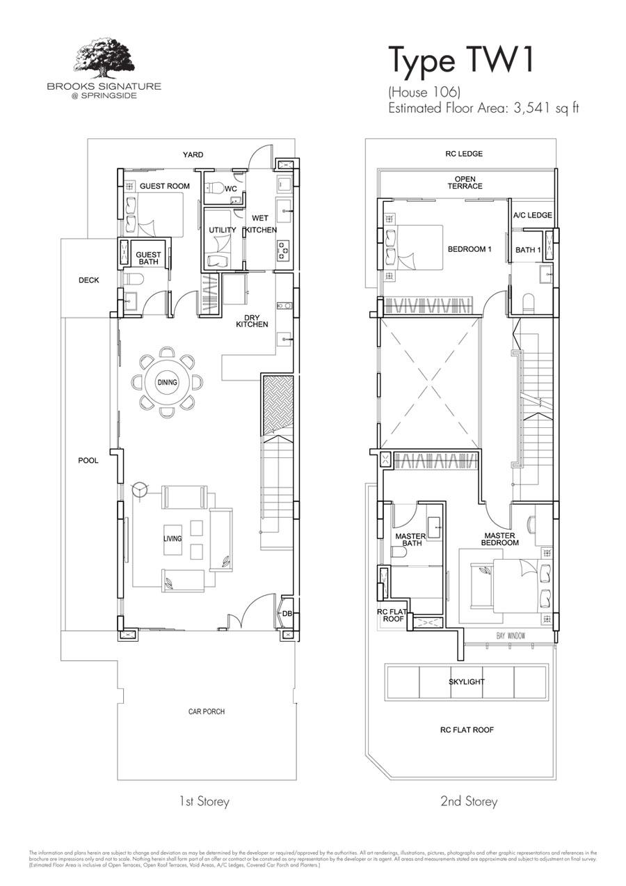 Brooks Signature floor plan TW1 106 (1)