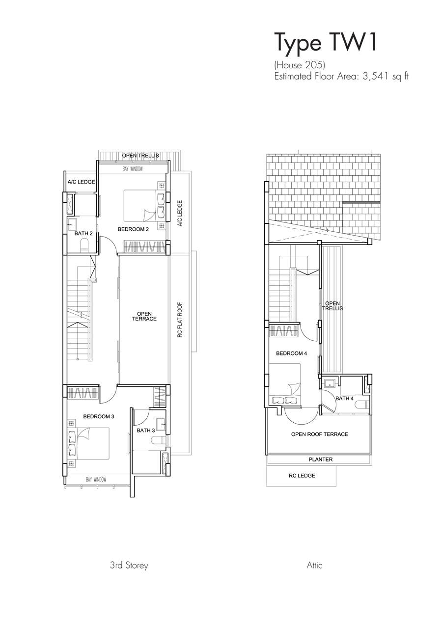 Brooks Signature floor plan TW1 205 (2)