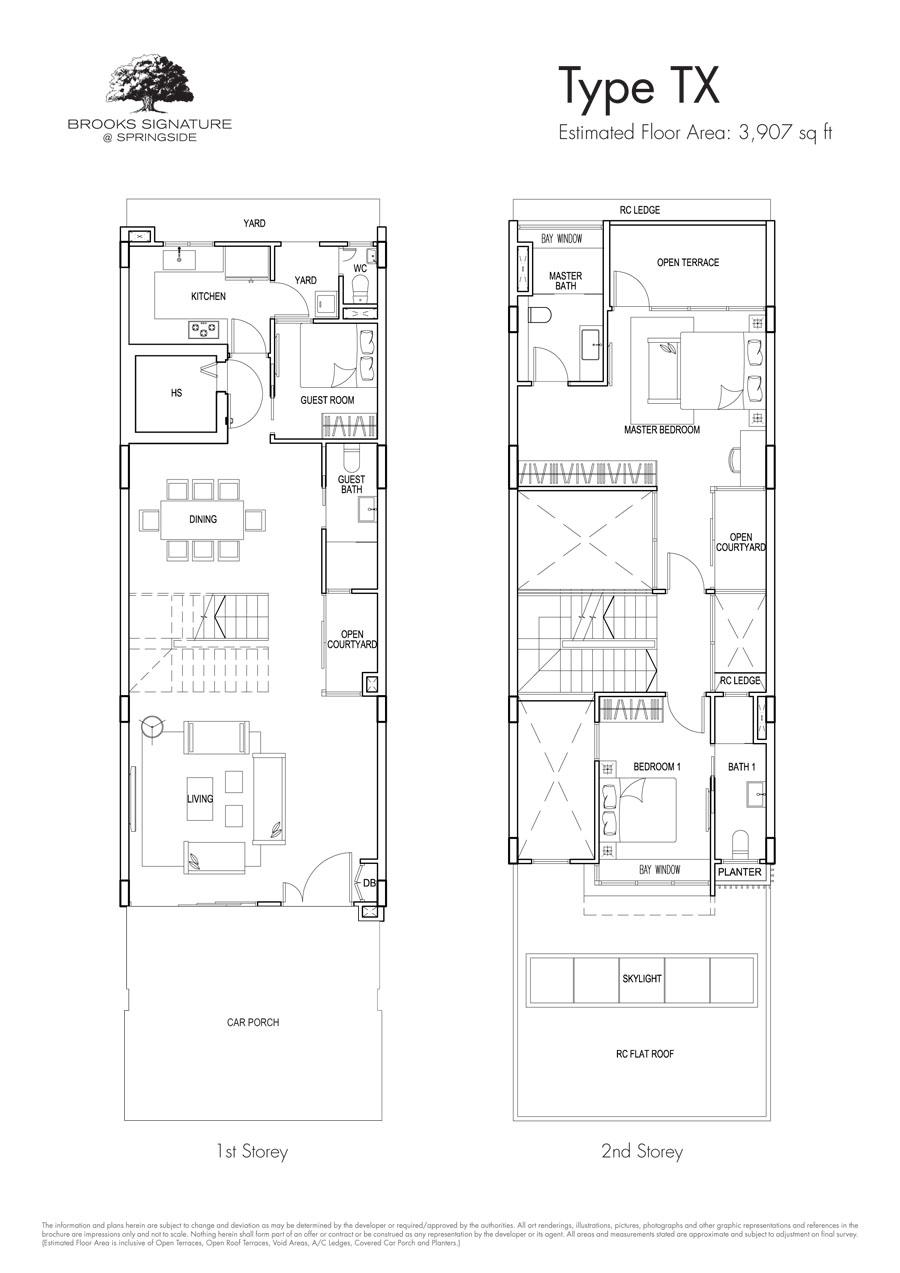 Brooks Signature floor plan TX (1)