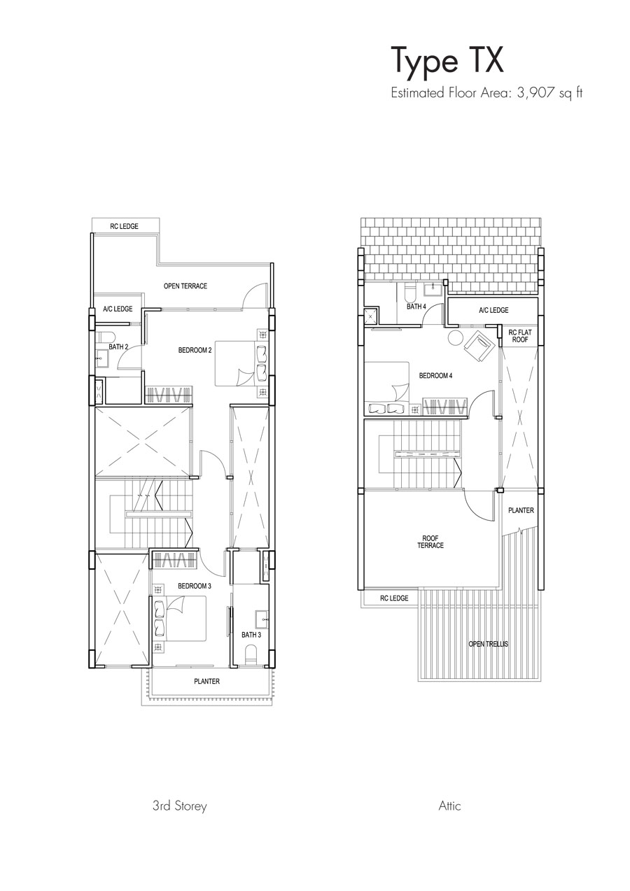 Brooks Signature floor plan TX (2)