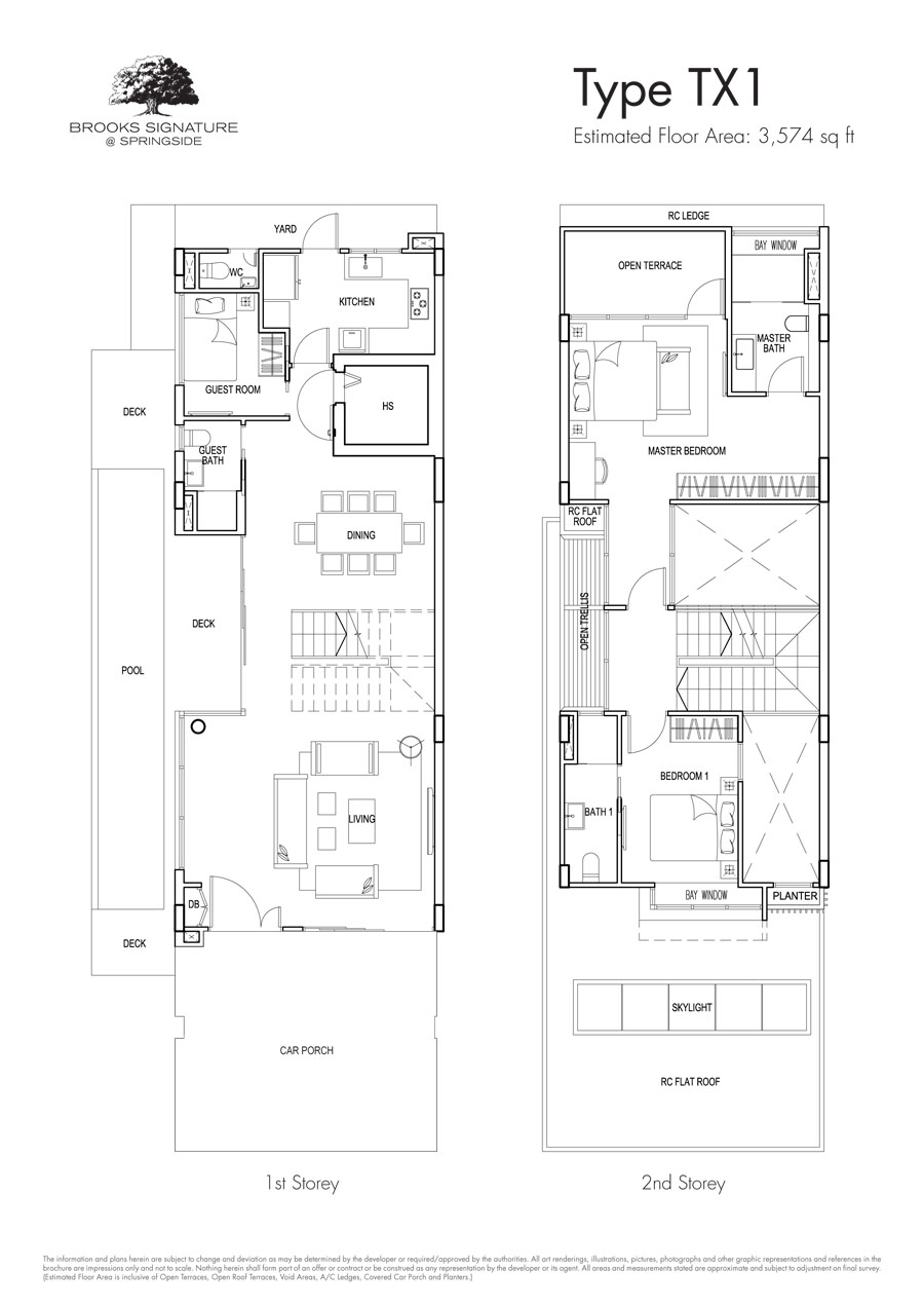 Brooks Signature floor plan TX1 (1)