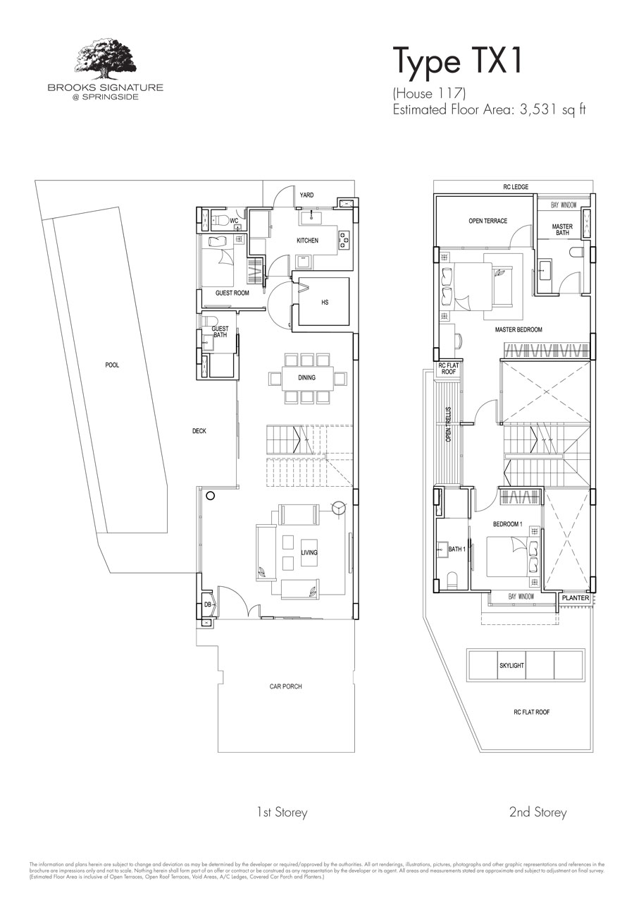 Brooks Signature floor plan TX1 117 (1)