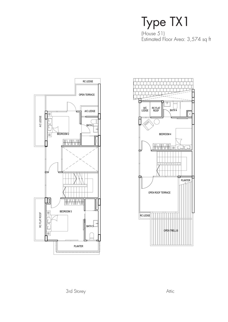 Brooks Signature floor plan TX1 51 (2)